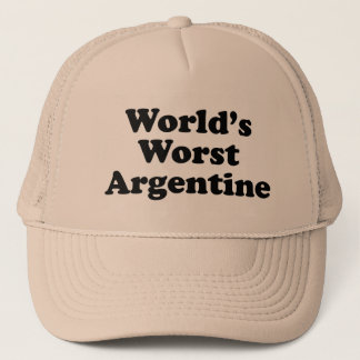 World's Worst Argentine Trucker Hat