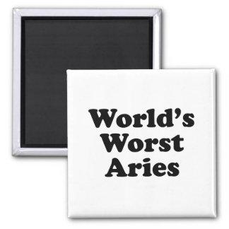 World's Worst Aries Magnet