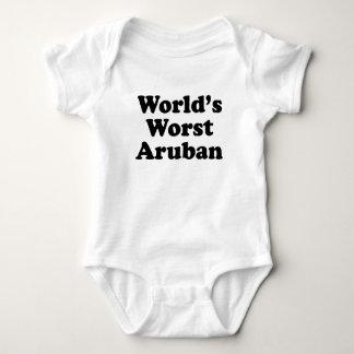 World's Worst Aruban Baby Bodysuit