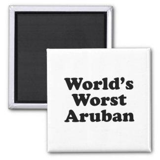 World's Worst Aruban Magnet