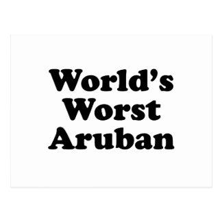World's Worst Aruban Postcard