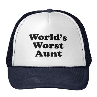 World's Worst Aunt Cap