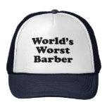 World's Worst Barber Cap