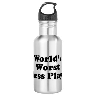 World's Worst Chess player 532 Ml Water Bottle
