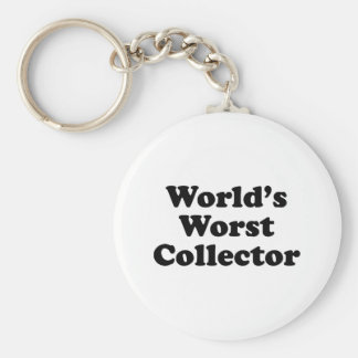 World's Worst Collector Key Chains