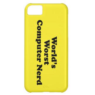 World's Worst Computer Nerd iPhone 5C Case