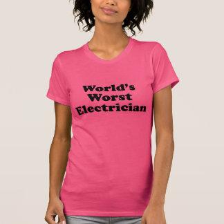 World's Worst Electrician T-Shirt