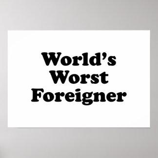 World's Worst Foreigner Poster