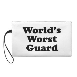 World's Worst Guard Wristlet Clutches