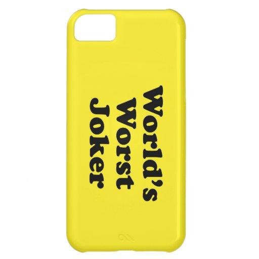 World's Worst Joker Cover For iPhone 5C
