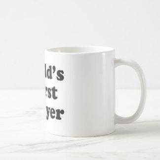 World's Worst Lawyer Basic White Mug