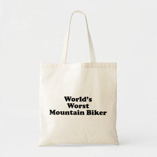 World's worst Mountain biker Bag