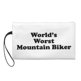 World's worst Mountain biker Wristlet Clutches