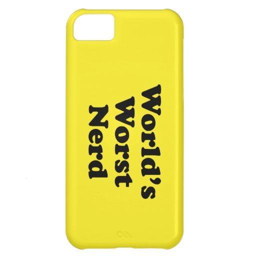World's Worst Nerd iPhone 5C Case