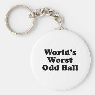 World's Worst Odd Ball Key Chains