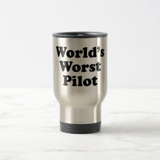World's Worst Pilot Travel Mug