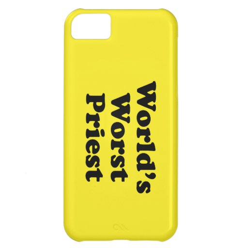 World's Worst Priest Cover For iPhone 5C