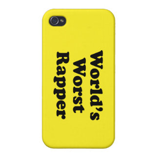 World's Worst Rapper Cover For iPhone 4