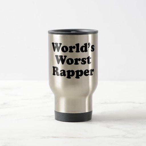 World's Worst Rapper Mug