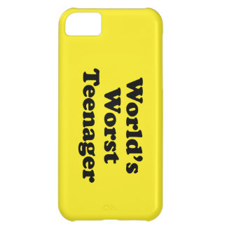 world's worst teenager iPhone 5C covers
