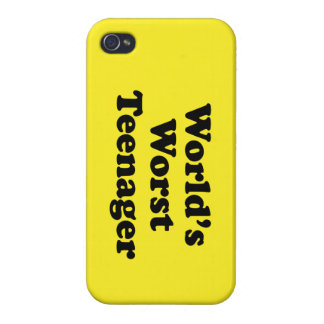 world's worst teenager iPhone 4 covers