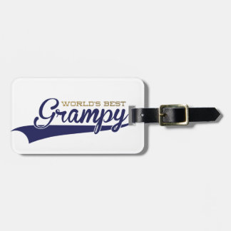 WorldsBestGrampyTee-01 Luggage Tag