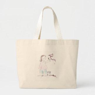 WorldsBestGrandma Jumbo Tote Bag