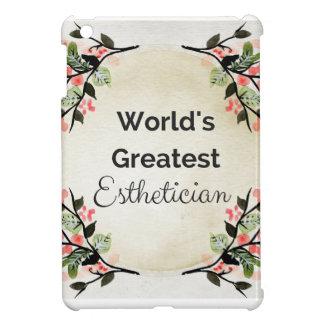World'sGreatest Esthetician iPad Mini Cases