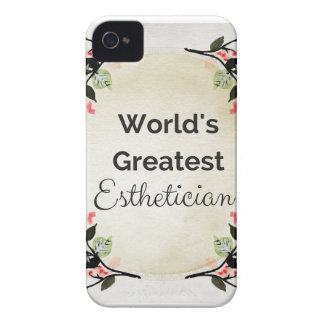 World'sGreatest Esthetician iPhone 4 Case-Mate Cases
