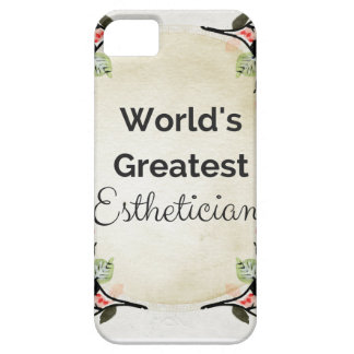 World'sGreatest Esthetician iPhone 5 Cases