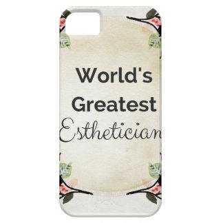 World'sGreatest Esthetician iPhone 5 Cases