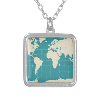 worldtravels.jpg silver plated necklace