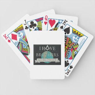 Worldwide Brotherhood Bicycle Playing Cards