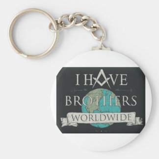 Worldwide Brotherhood Key Ring
