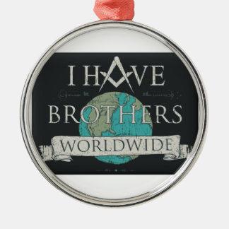 Worldwide Brotherhood Metal Ornament