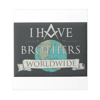 Worldwide Brotherhood Notepad