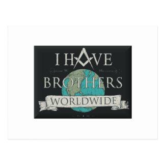 Worldwide Brotherhood Postcard
