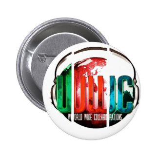 worldwide collaboration products 6 cm round badge