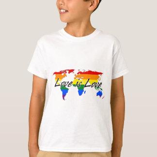 Worldwide Gay Pride Love Is Love T-Shirt