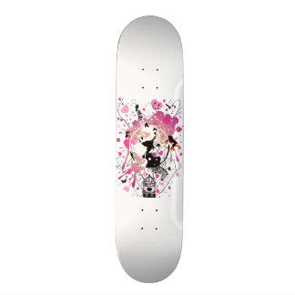 Worldwide_Love 21.3 Cm Mini Skateboard Deck