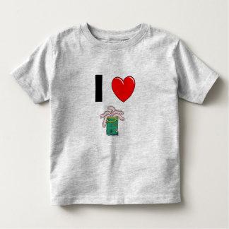 worm, 20716803, I Toddler T-Shirt