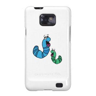 Worm Bugs Samsung Galaxy SII Cover