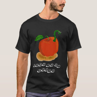 worm in my apple T-Shirt