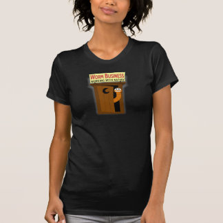 Worm in Outhouse Working With Nature T-Shirt