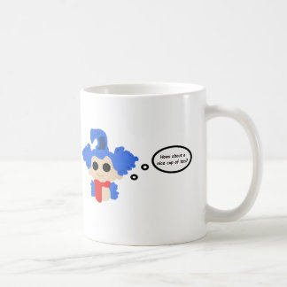 Worm mug - 'Hows about a nice cup of tea?'