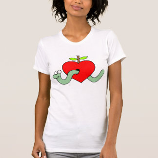 Worm Through My Heart Shirts