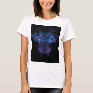 Wormhole Abstract Fractal Design T-Shirt