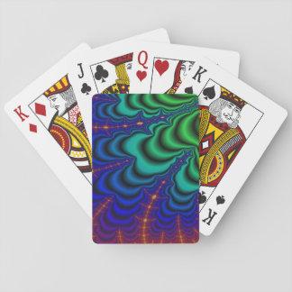 Wormhole Fractal Space Tube Poker Deck