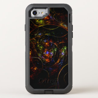 Wormhole Science Fiction Fractal OtterBox Defender iPhone 8/7 Case