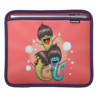 WORMS ALIENS MONSTERS iPad H iPad Sleeves